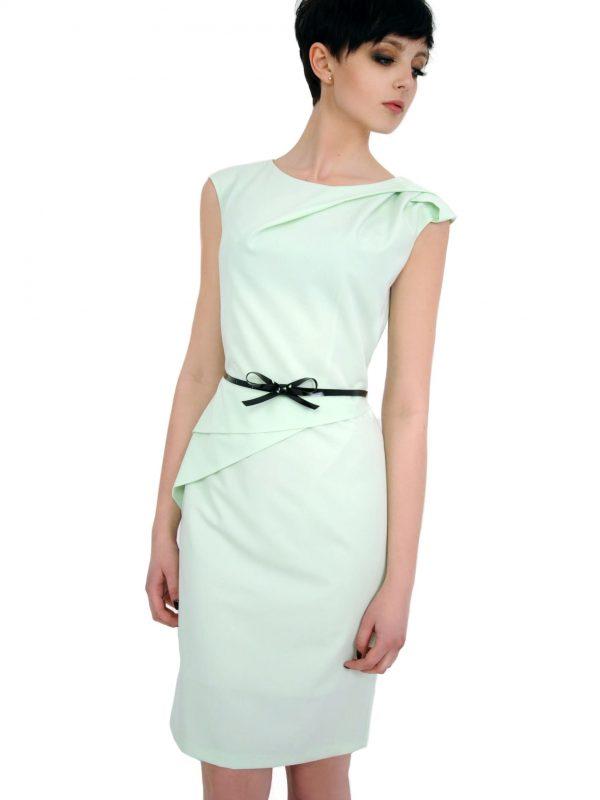 Sukienka Estera w kolorze seledynowym