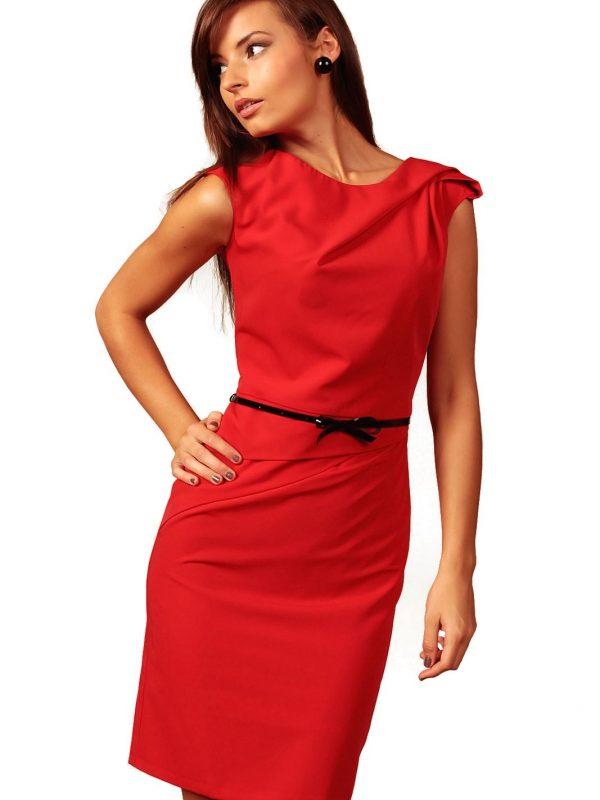 Sukienka Estera w kolorze czerwonym