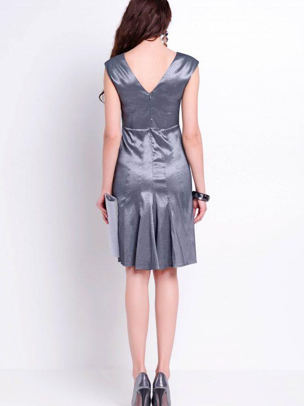 Fiona dress in silver