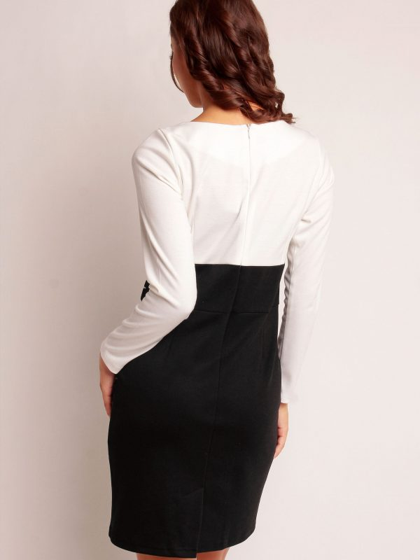 White-coloured GABI KNITTWEAR dress