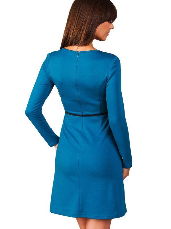 Giselle dress in Paris blue color