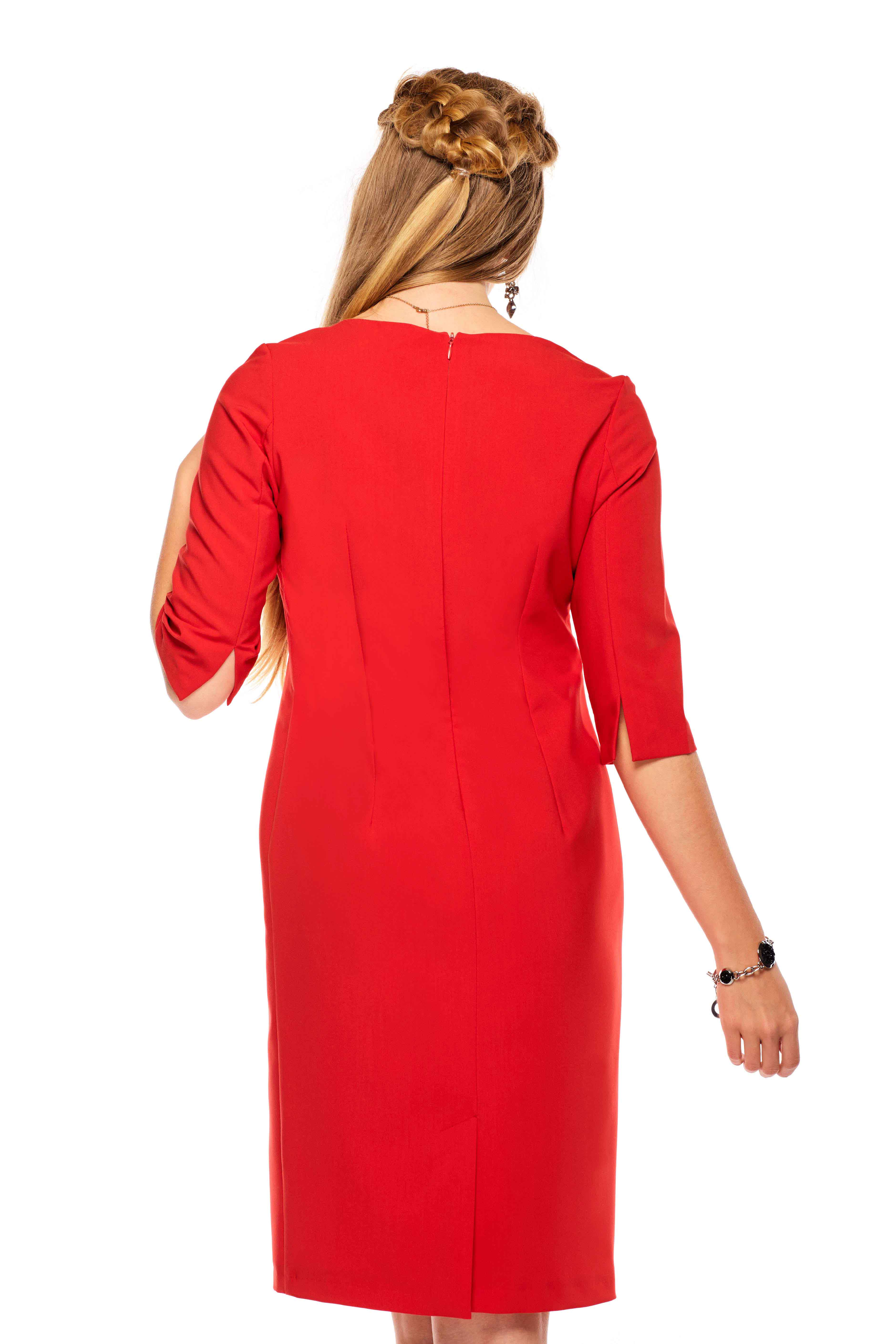 Inga dress in red