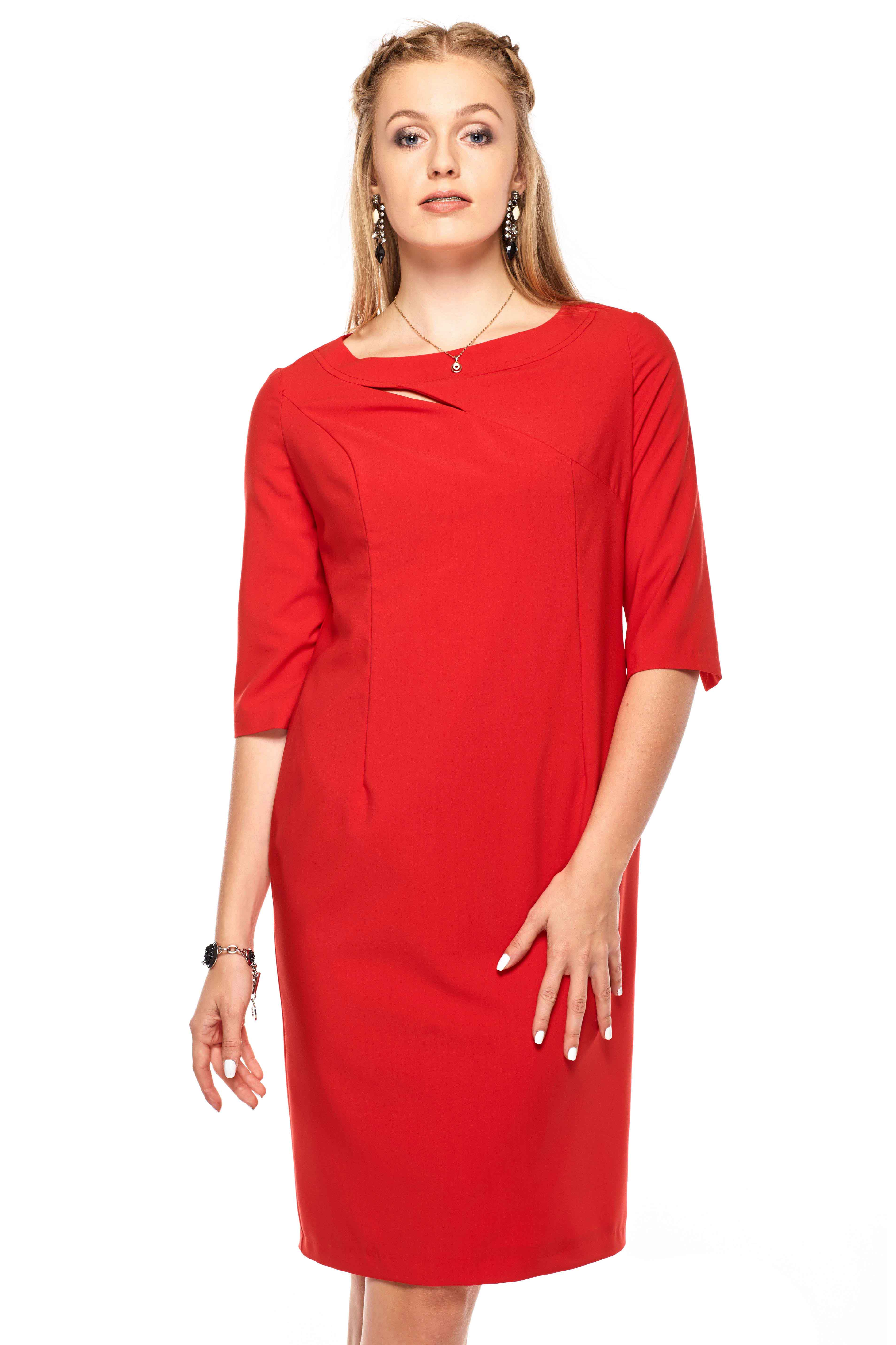 Sukienka Inga w kolorze czerwony
