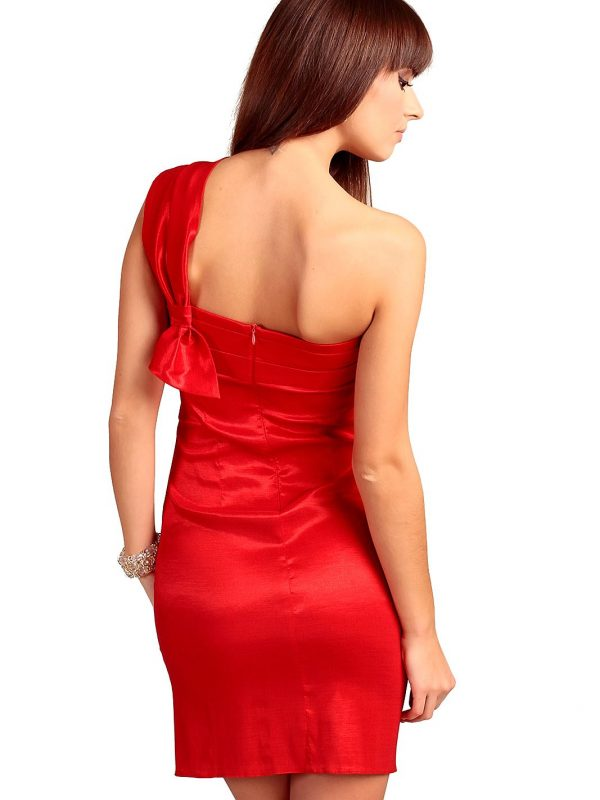 Kaja dress in red