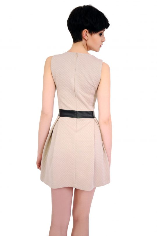 Beige Madelaine dress