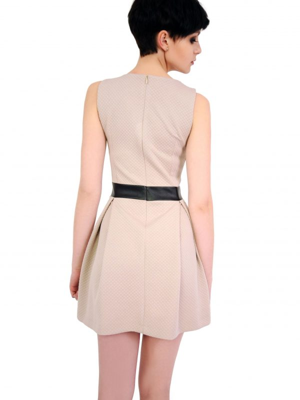 Beige Madelaine dress