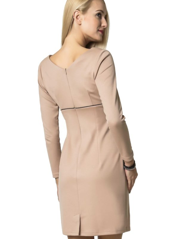 Beige Marie Knitwear dress