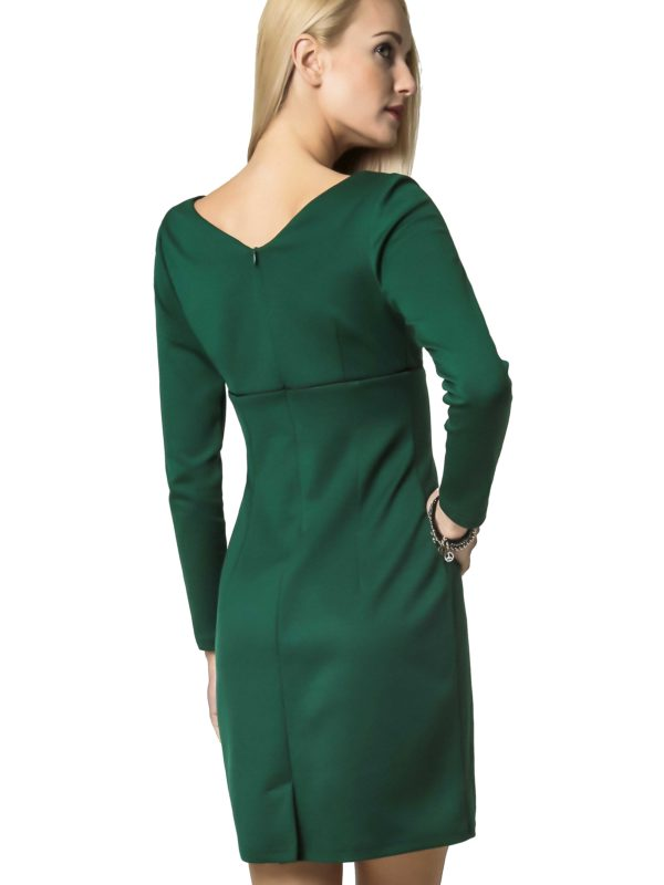 Marie Knitwear dress in green