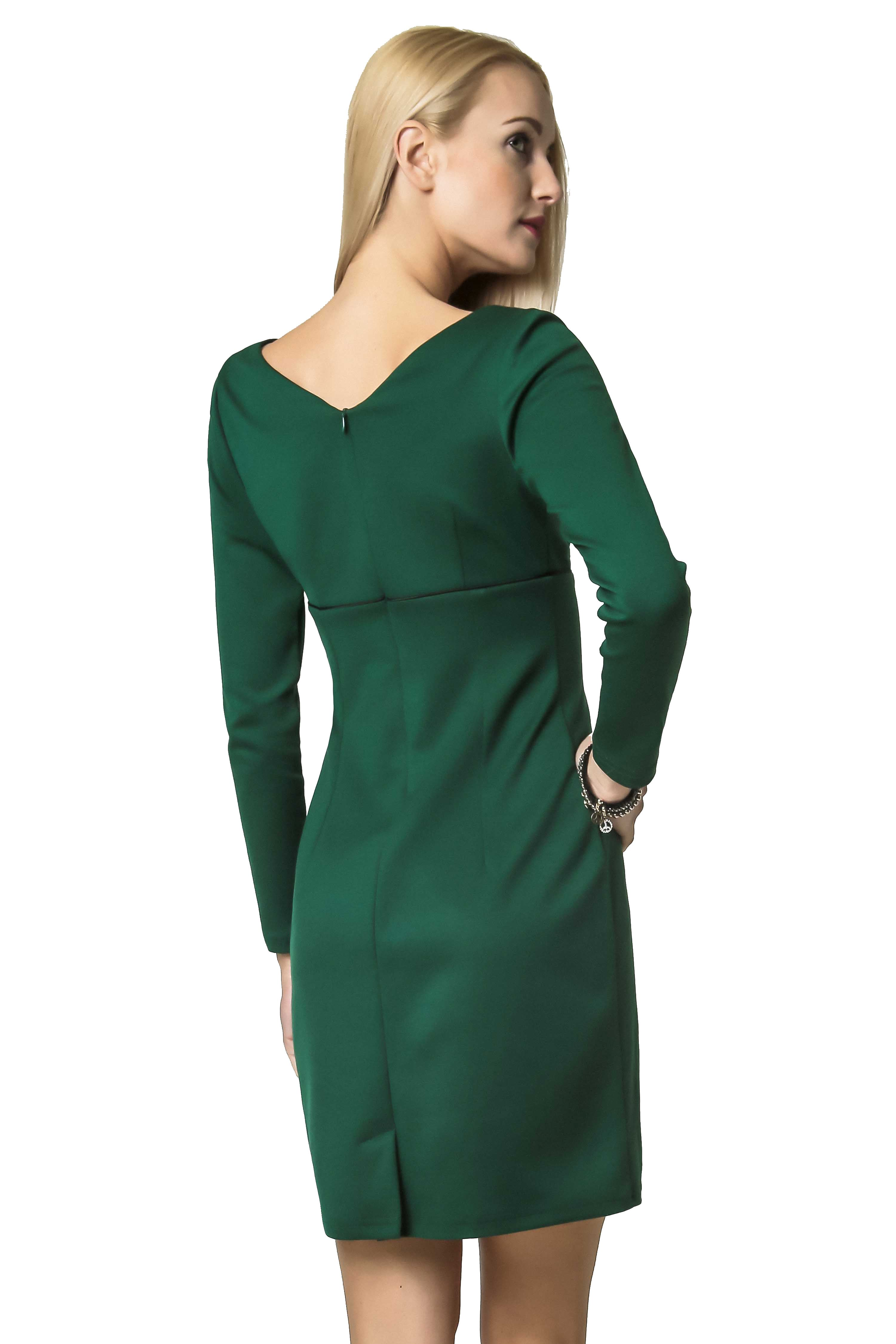 Marie Knitwear dress in green