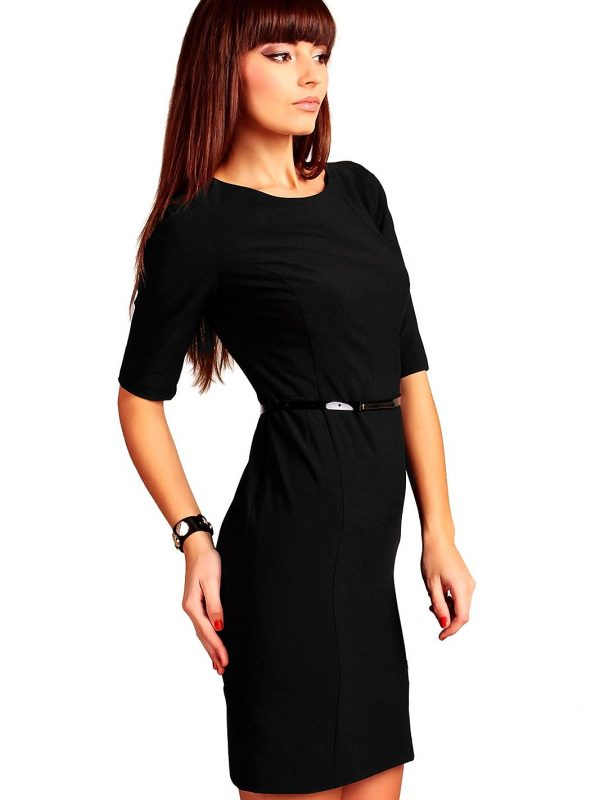 Black Marina dress