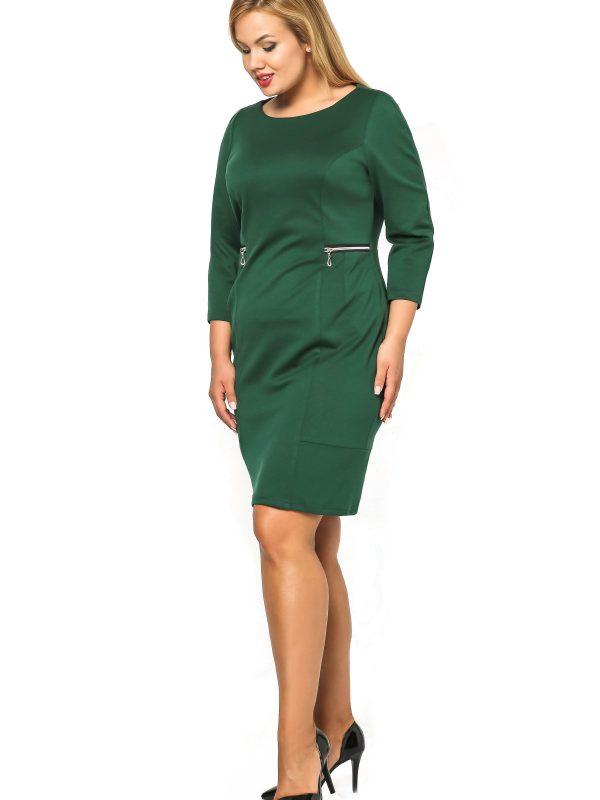 Melanie dress, green