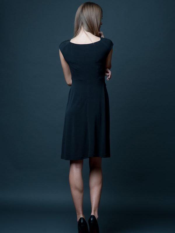 Milena dress, navy blue