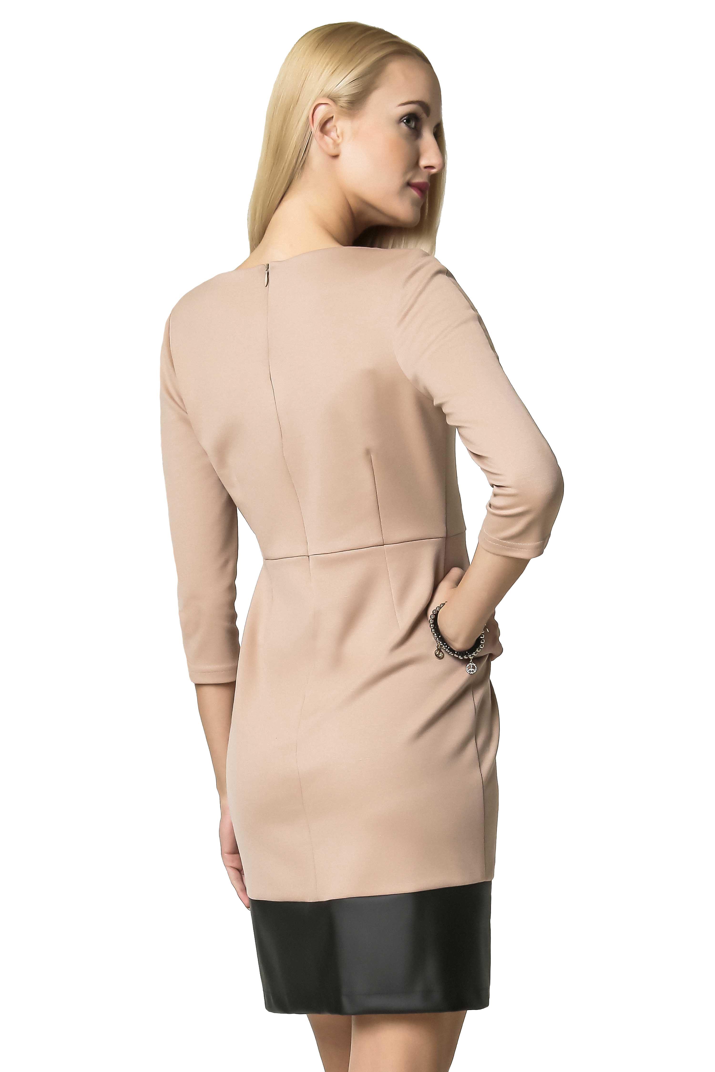 Beige Mira dress