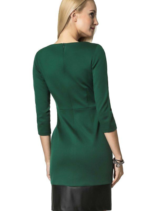 Mira dress in green