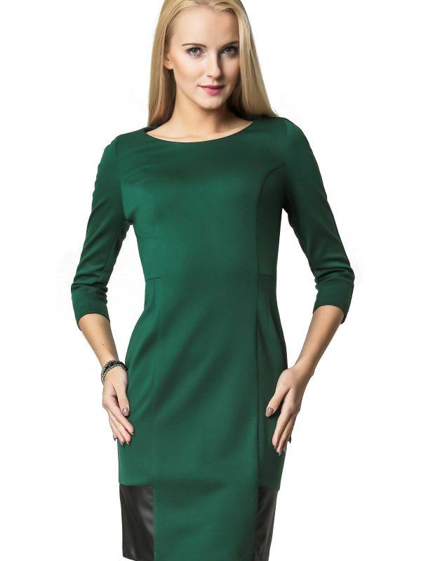 Sukienka Mira w kolorze zielonym