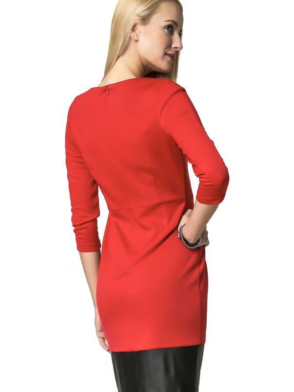 Mira dress in red