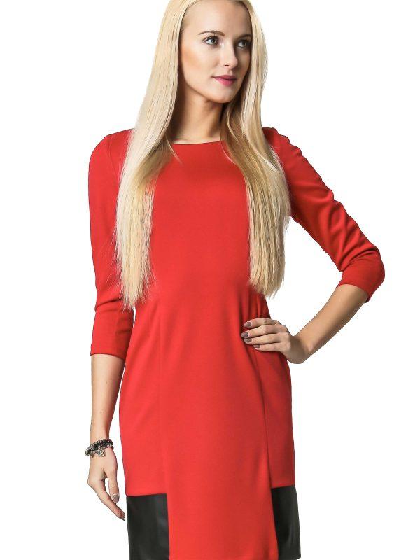 Sukienka Mira w kolorze czerwonym