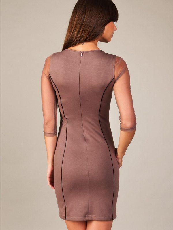 Mirelle Kleid in Beige
