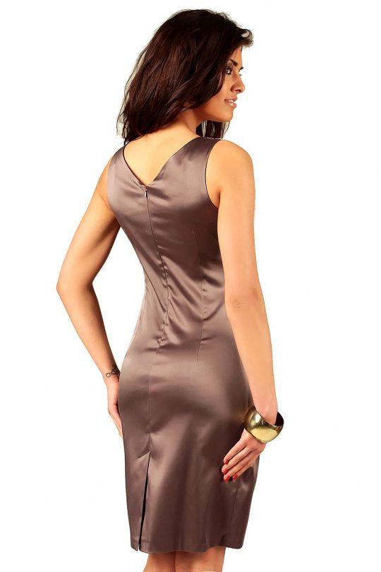 Oriana dress in cappuccino color
