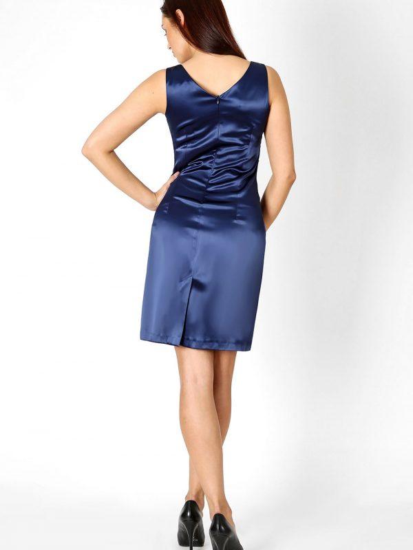 Oriana dress in navy blue