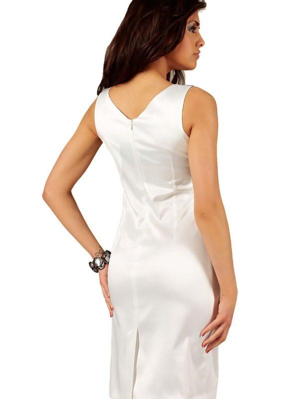 Oriana ecru dress with lace