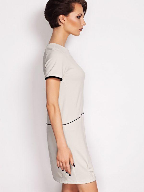 Oxana Beige Dress