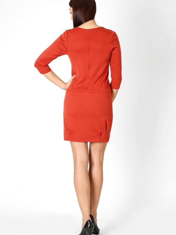 Oxana dress in red