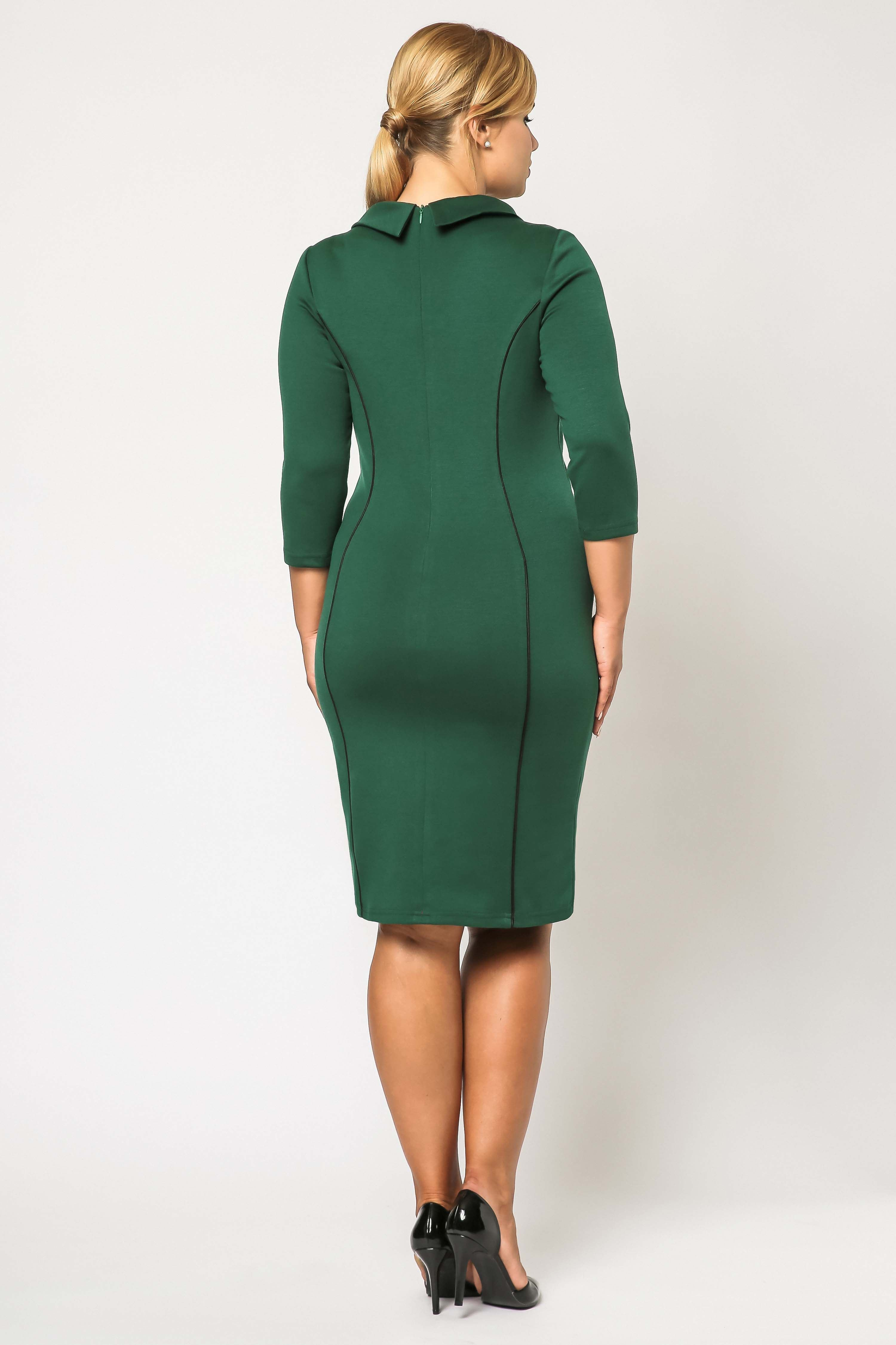 Pauline dress in green