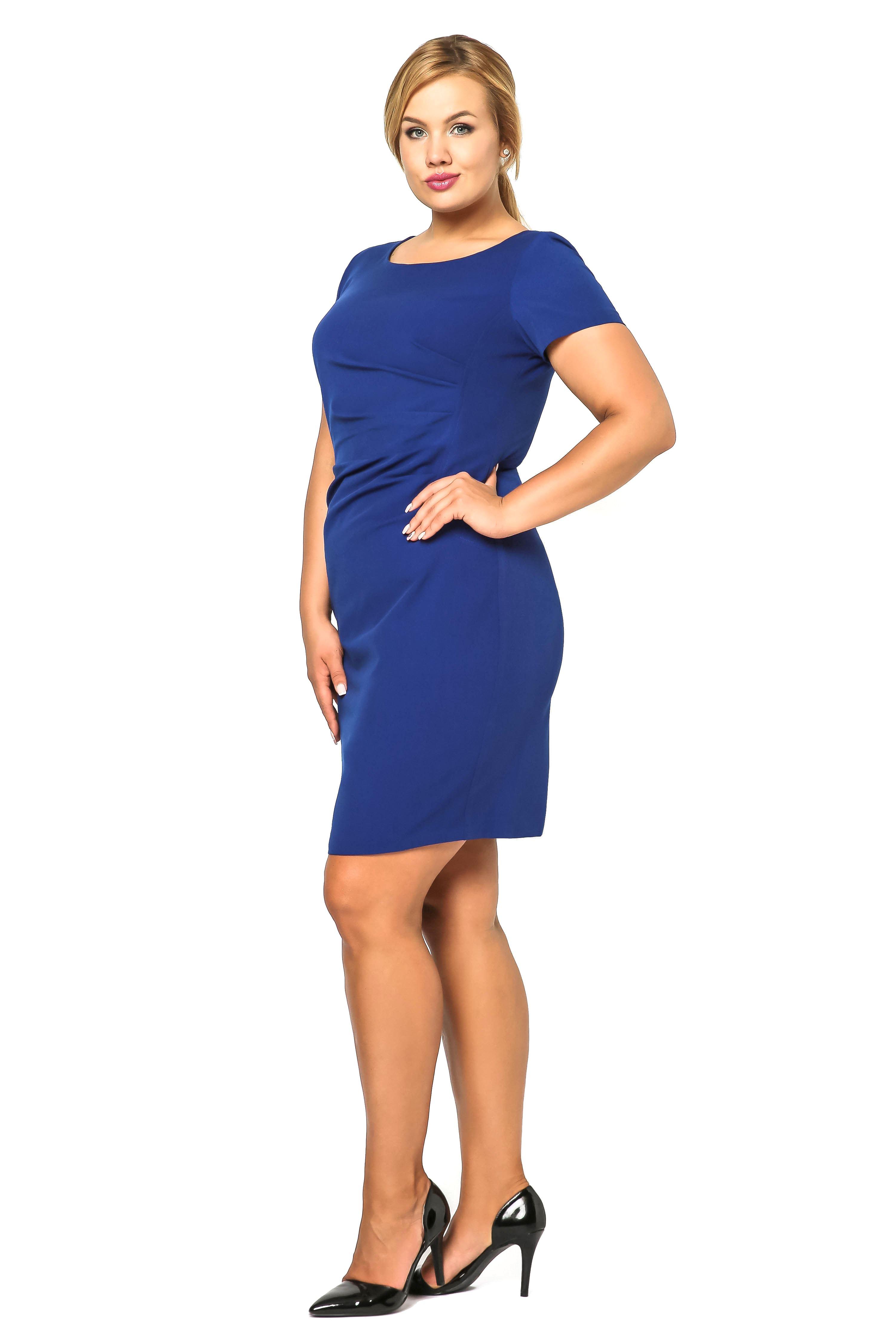 Sukienka Rachela w kolorze chabrowym