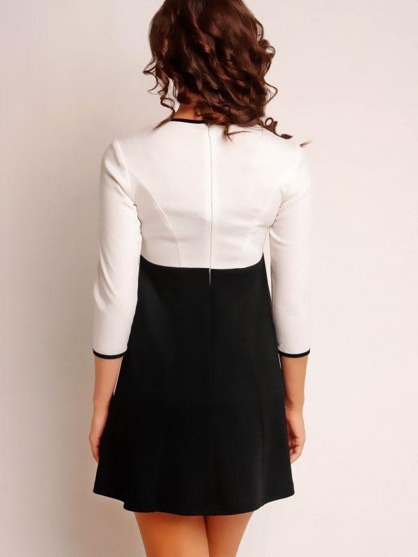 RUTH KNITWEAR dress, ecru