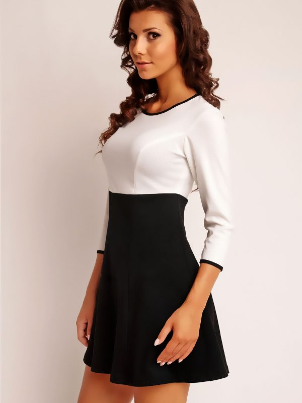 RUTH KNITWEAR dress, ecru