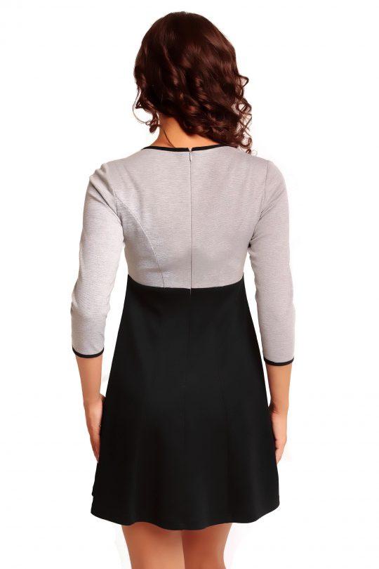 RUTH KNITWEAR dress, gray