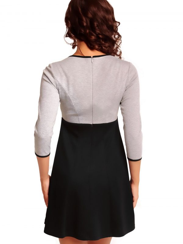 RUTH KNITWEAR dress, gray