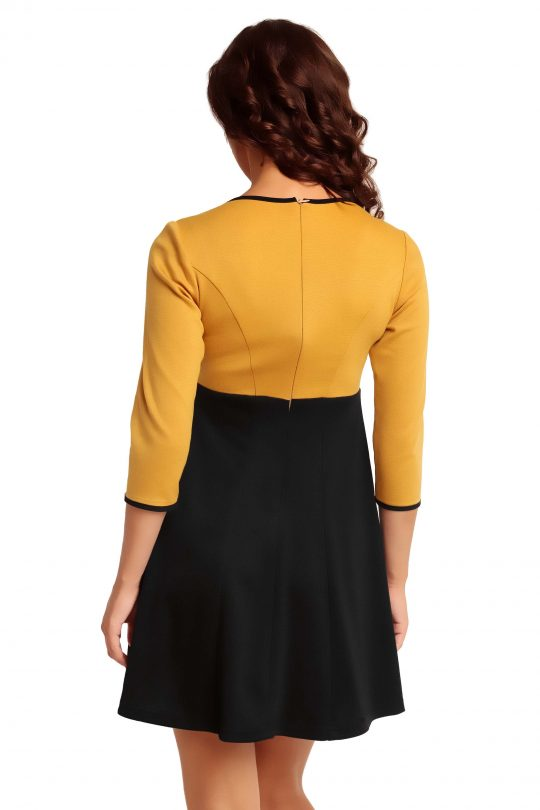 RUTH KNITWEAR dress, honey