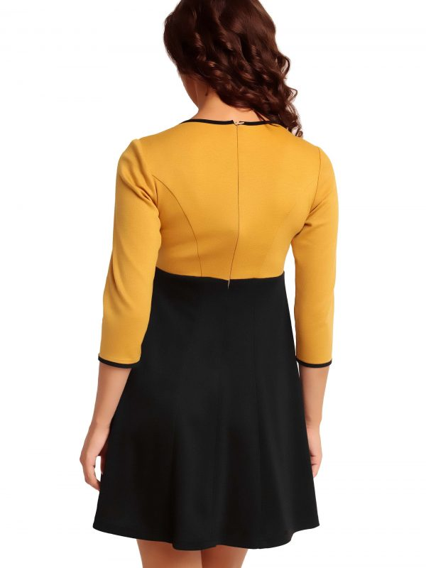 RUTH KNITWEAR dress, honey
