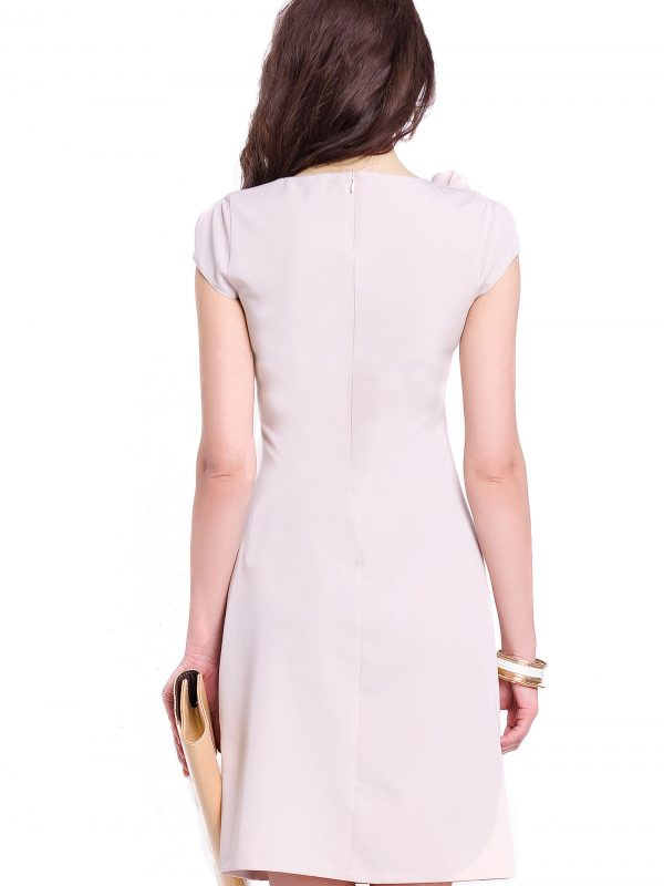 Salome dress in beige
