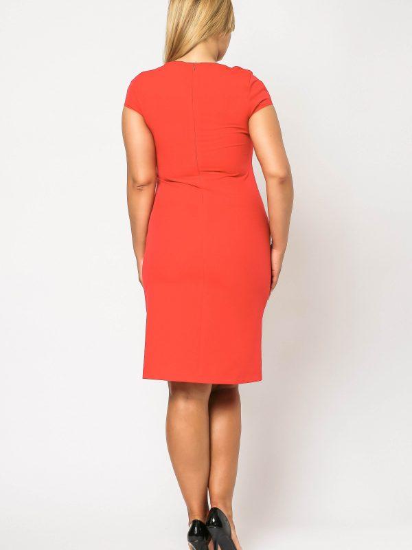 Elegant Salome formal dress red