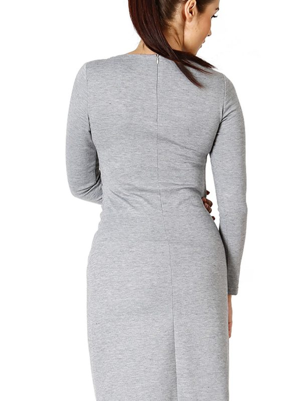 Sara dress in gray
