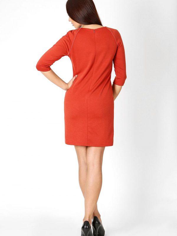Sendy dress in red