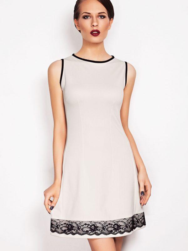 SIMONE SOMMER dress in off-white
