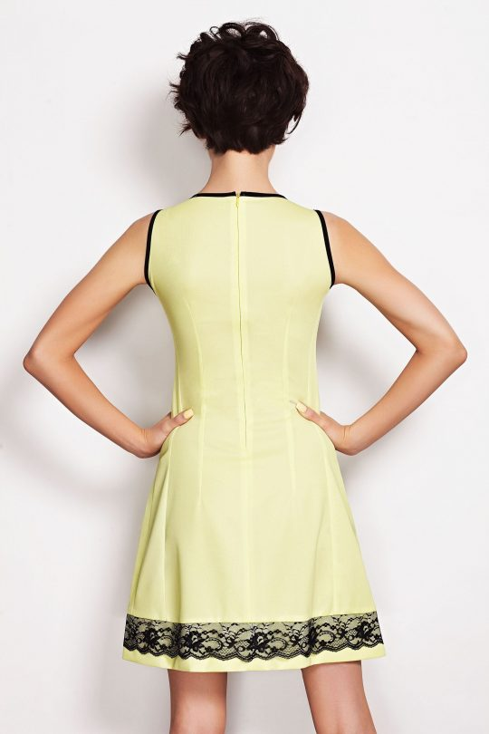 SIMONE SOMMER dress in lime color