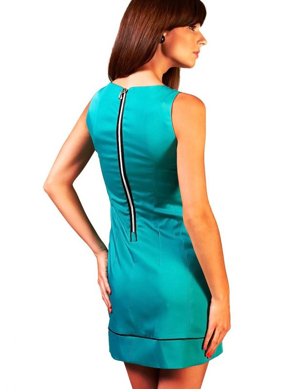 Turquoise Simone dress