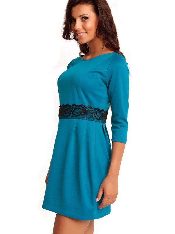 SOLANGE KNITWEAR dress, blue