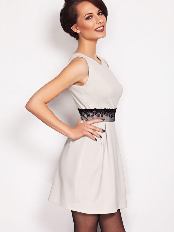 Dress SOLANGE Beige LACE