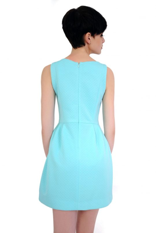 Turquoise Solange dress