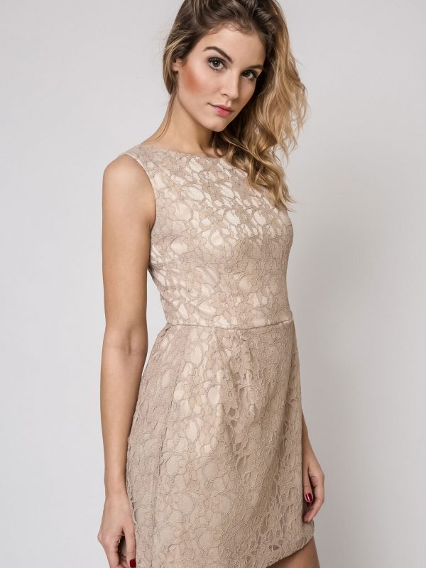 Sonia dress in beige