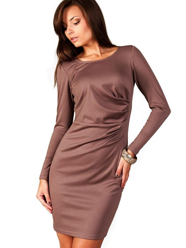 Beige Sophie dress