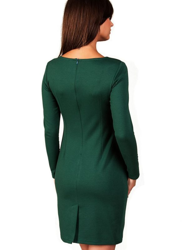 Sophie dress in dark green