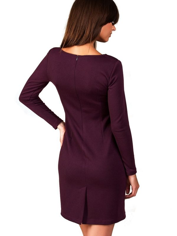 Sophie dress in plum color