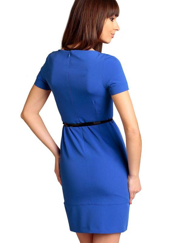 Cornflower blue Susanne dress